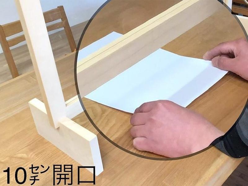 老津木工_飛沫防止パネル特徴1