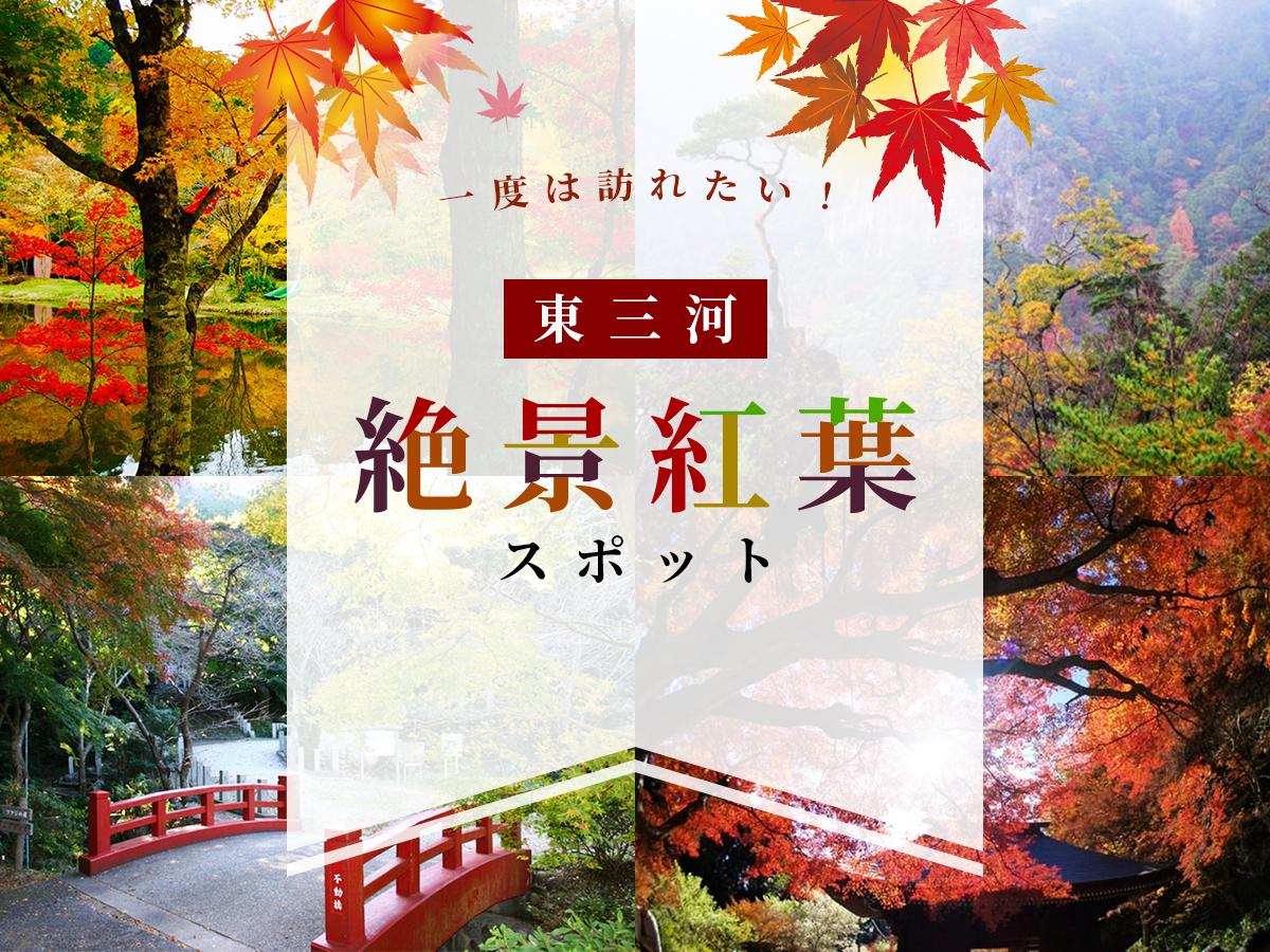 東三河の絶景紅葉スポット