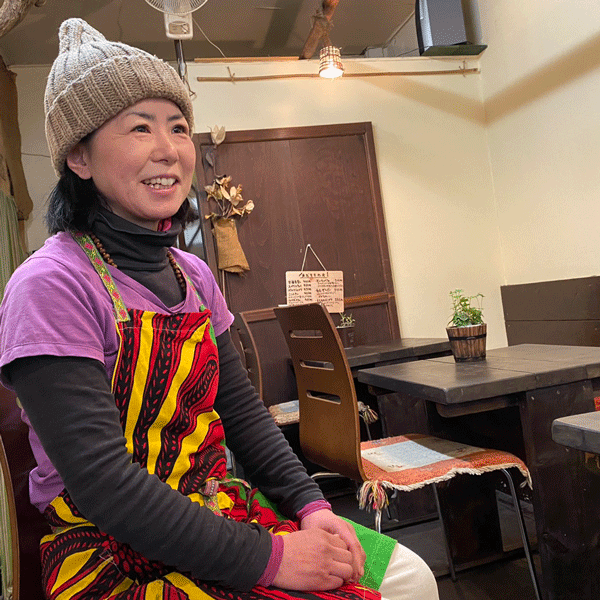 茶ー民カフェ_川上あずささん