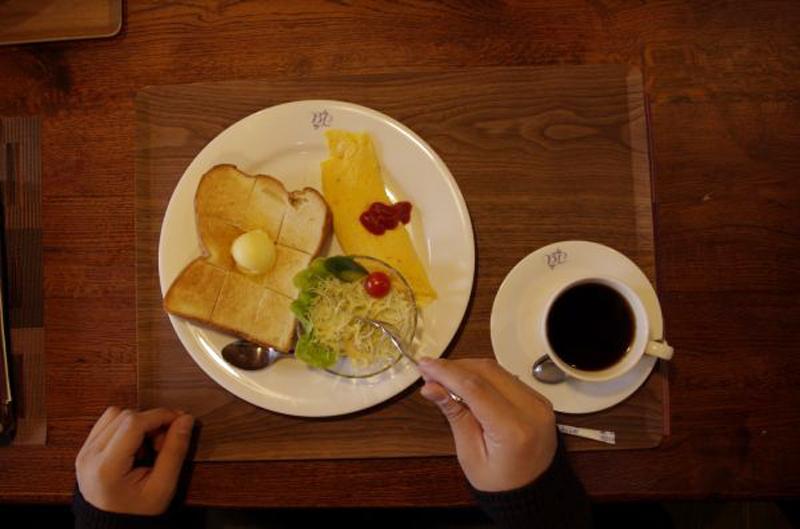カフェ_モーニングセット